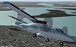 Screenshot of Mackey International Twin Otter in flight.