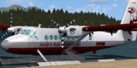 Screenshot of Misty Air DHC6 Twin Otter on floats.