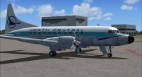 Screenshot of North Central Convair 580 on the ground.