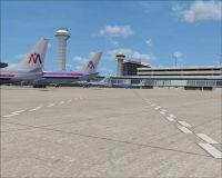 Screenshot of O'Hare International Airport, American Termainal 3.