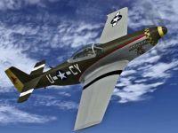 Screenshot of P-51 Racer Gunslinger in flight.