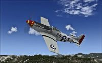Screenshot of P-51 Racer Old Crow in flight.