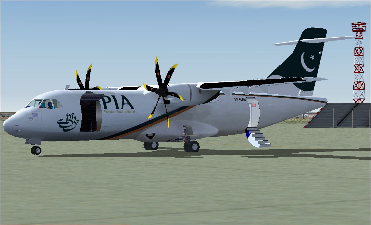 PIA Cargo ATR 42-500F For FSX