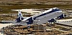 Screenshot of Pan Am Lockheed L-188 Elecrtra in flight.