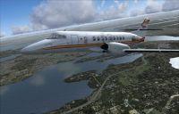 Screenshot of PenAir BAe Jetstream 41 in flight.