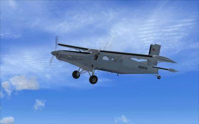 Screenshot of Pilatus PC-6C-H2  in flight.