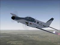 Screenshot of Piper Cheyenne II VH-ATC in flight.