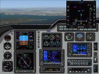 Screenshot of PoMans Meridian III panels/gauges.