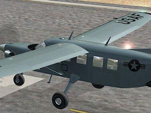 Screenshot of Quest Kodiak Special Forces on runway.