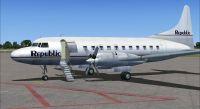 Screenshot of Republic Convair 580 on the ground.