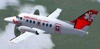 Screenshot of Sarpa Jetstream 32 in flight.