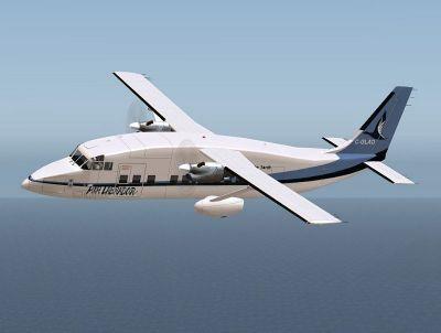 Screenshot of Shorts SD3-60 C-GLAO in flight.