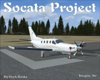 Screenshot of Socata TBM Project on the ground.