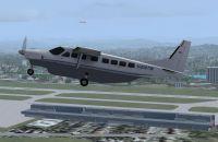 Screenshot of Tradewind Aviation Cessna C208B in flight.