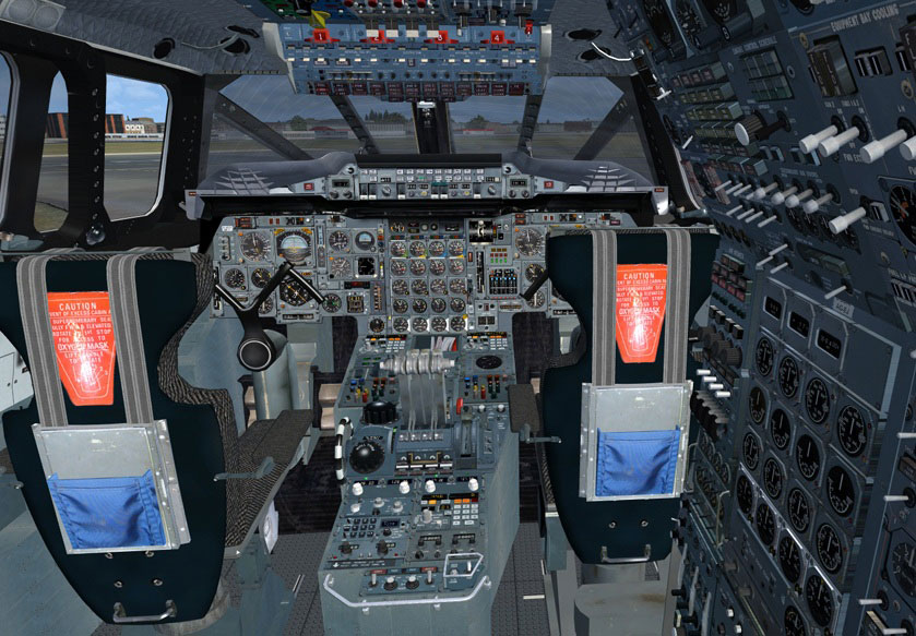 Concorde glass cockpit