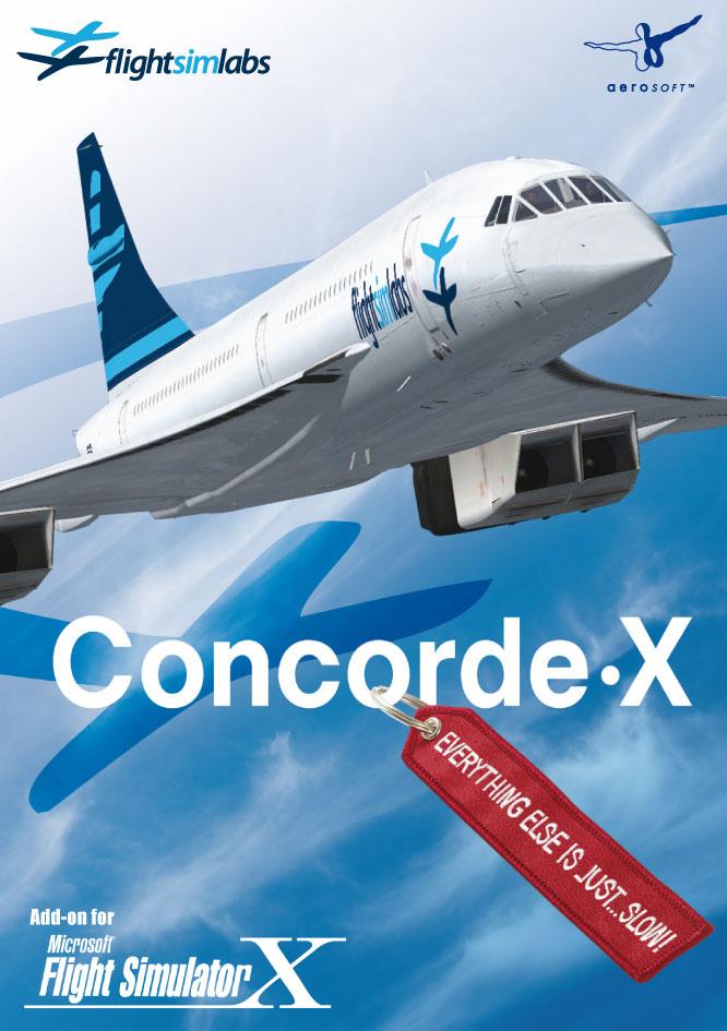 Concorde x v1. 3 released for fsx/fsx:se/p3d.
