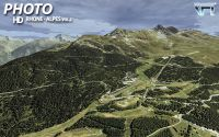 France VFR's Alps Scenery.