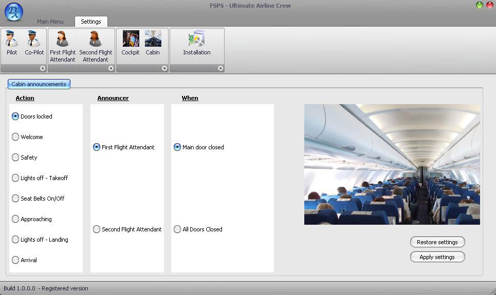 Fsx cabin crew announcements download free.
