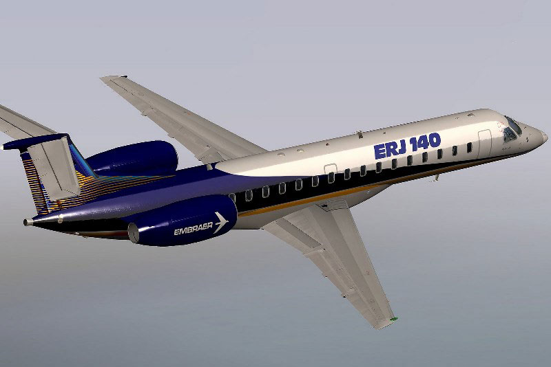 VMAX Has Released Embraer ERJ140 for X-Plane