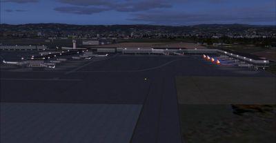 View of Metropolitan Oakland International Airport.