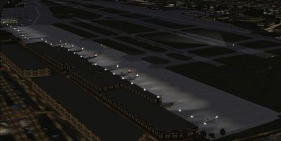 Screenshot of Santa Ana/John Wayne Airport.