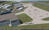 View of London Biggin Hill Airport.
