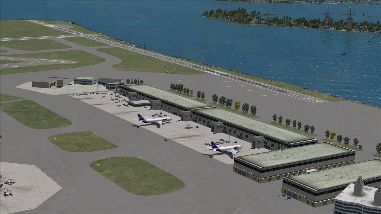 Boston Logan Airport Parking >> AFCAD File For KBOS for FSX