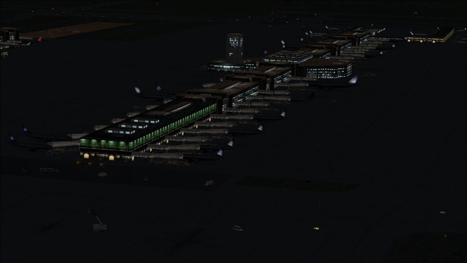AFCAD File For KDEN for FSX