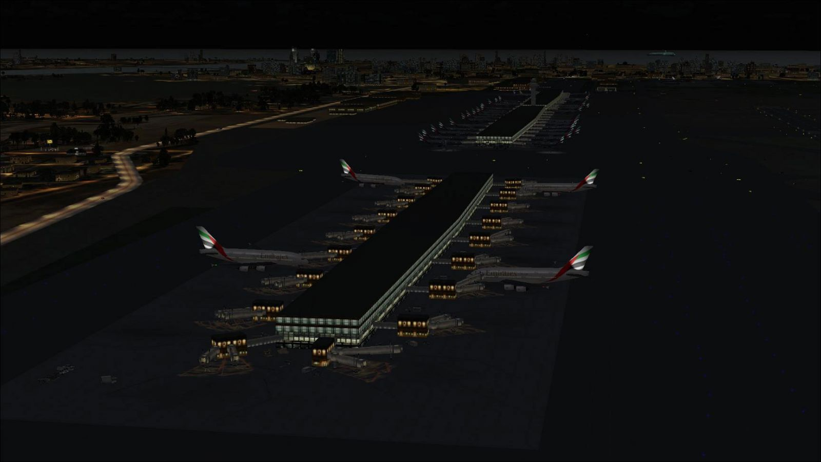 AFCAD File For OMDB for FSX
