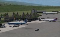 View of Kona International at Keahole.