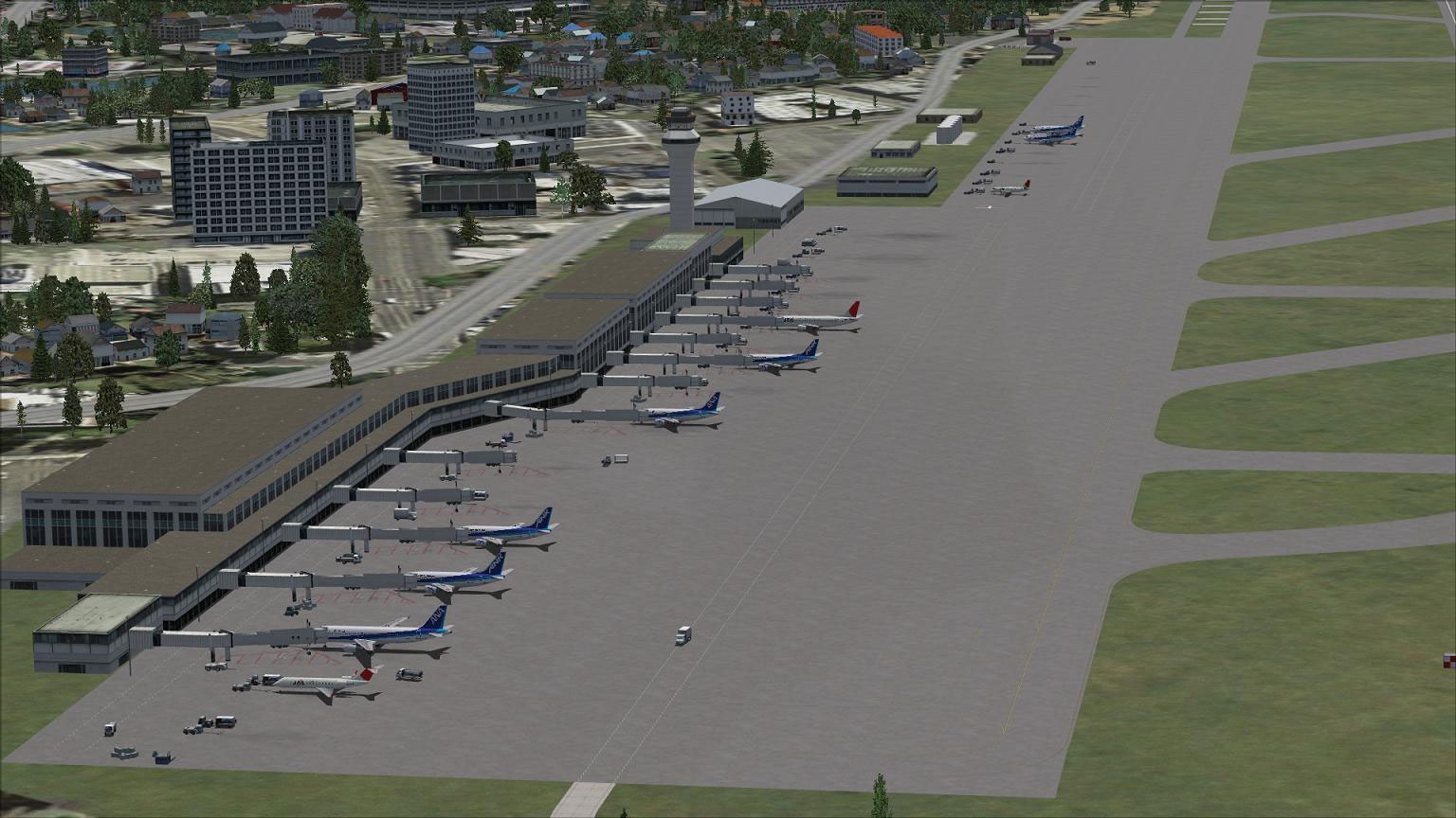 AFCAD File For RJFF for FSX