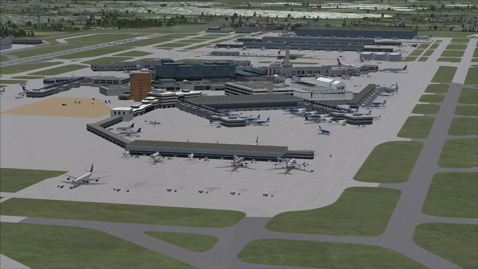 AFCAD For EGLL for FSX
