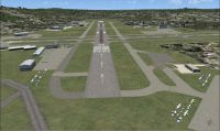 View of Danbury Municipal Airport.