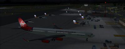 View of Grantley Adams International Airport.