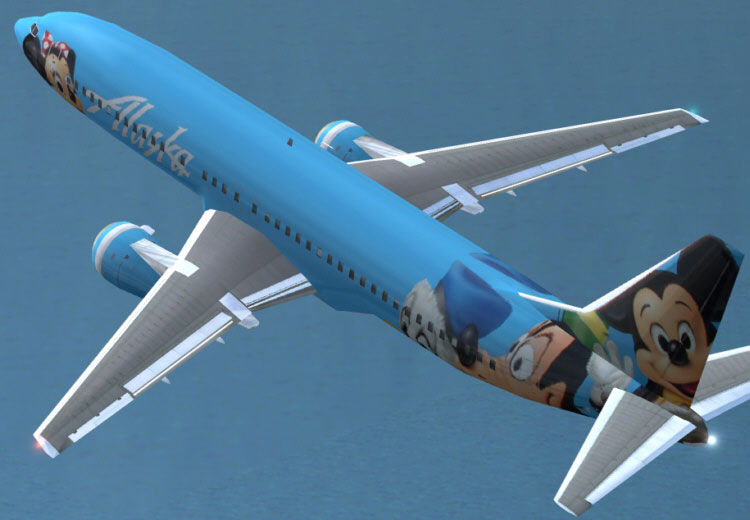 Alaska Airlines Boeing 737 400 For Fs2004