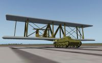 Screenshot of Antonov A-40 on runway.