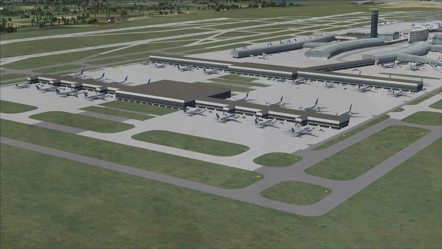 Charles-De-Gaulle International Airport for FSX