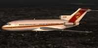 Screenshot of Captain Sim 727-100 in flight.