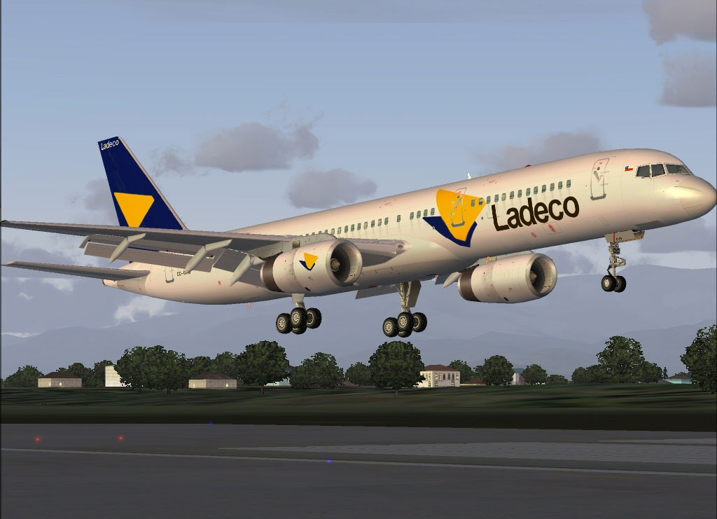 Ladeco Boeing 757 200 For Fs2004