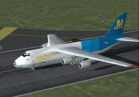 Screenshot of Mediterranea An-124B on runway.
