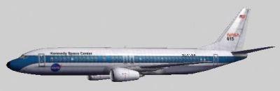 Screenshot of NASA Boeing 737-400.
