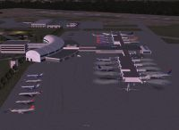 View of Jacksonville International, Florida.