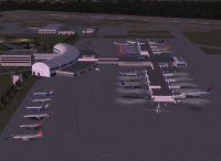 View of Jacksonville International, Florida.