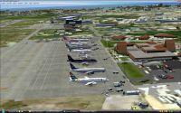 View of Owen Roberts International Airport.