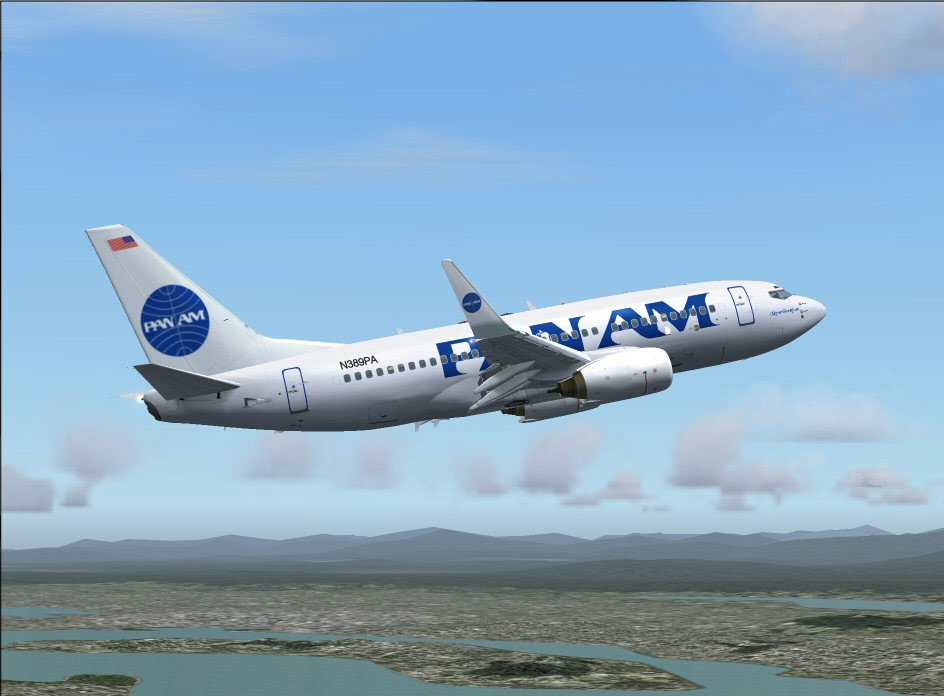 Pan Am Boeing 737 700 For Fs2004