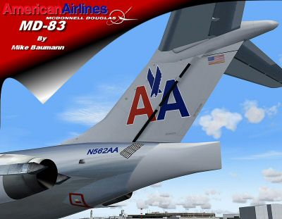 Screenshot of SGA AA MD-83 tail decal.