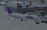 Screenshot of Tango Airbus A320-200 on the ground.