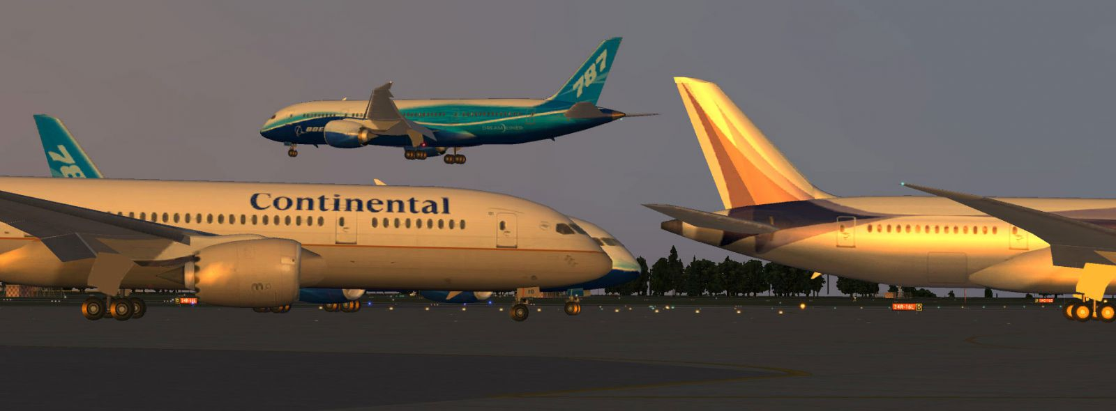 XPFW B787-8 AI Pack 1 0 for X-Plane 11/10