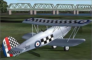 Icarus' Hawker Fury.