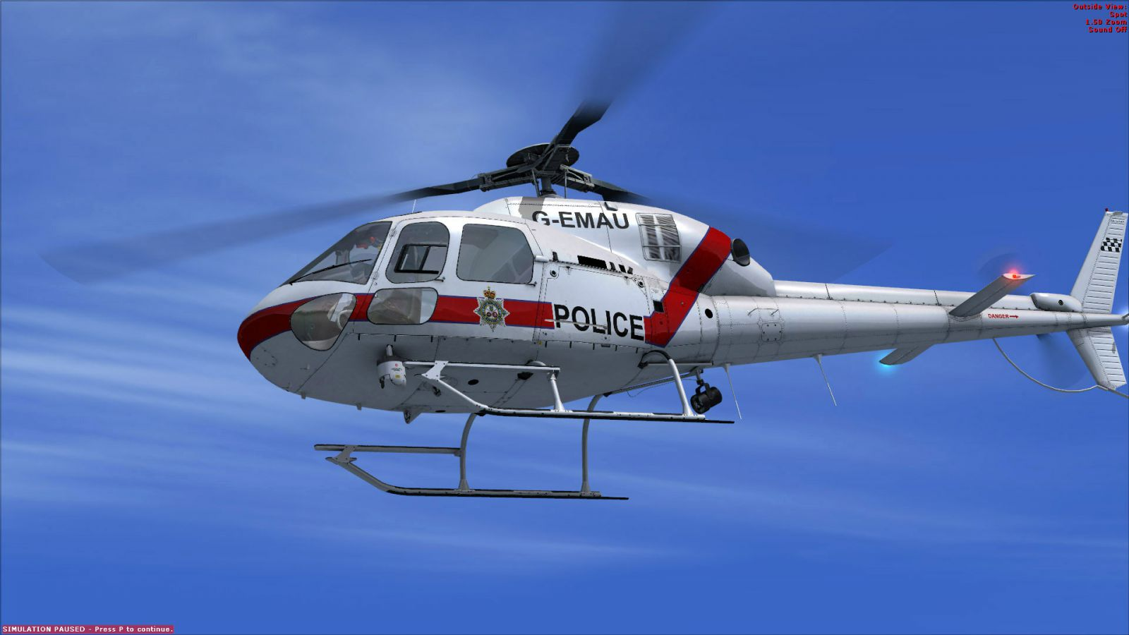 Nemeth Designs Has Released Eurocopter AS355 for FSX
